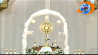 40 Hour Adoration in English at St. Mary's in 2013.